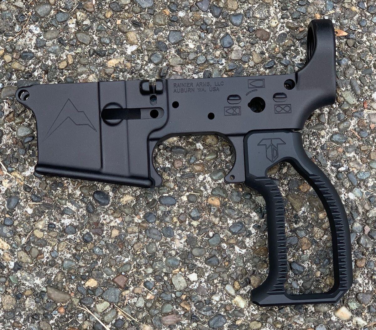 Vertical Pistol Grip - Blue