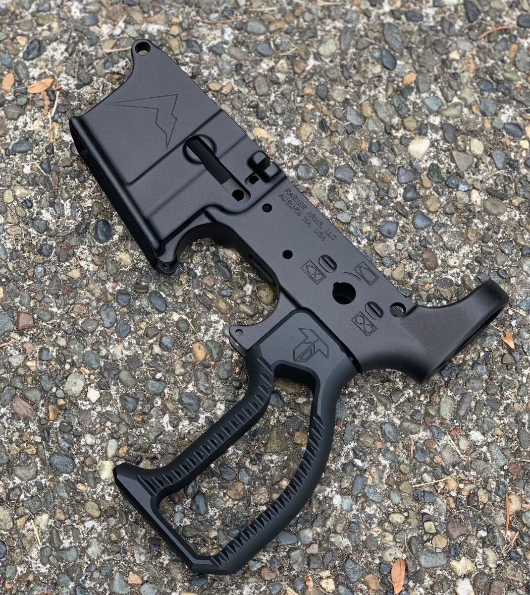 Vertical Pistol Grip - Black